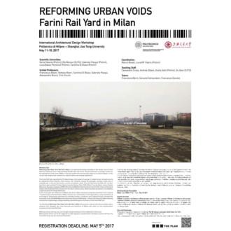 REFORMING URBAN VOIDS | Farini Rail Yard in Milan